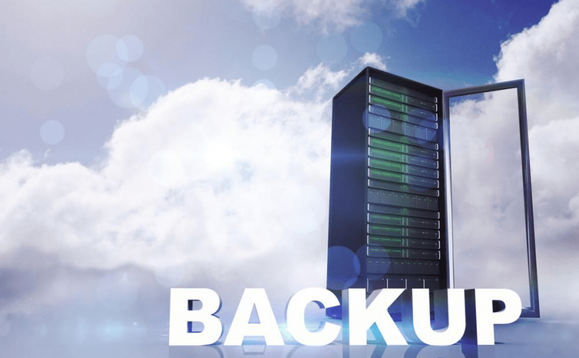 image of backup server